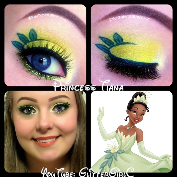Disney Princess Tiana makeup