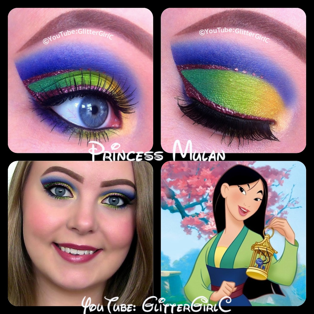 Princess Mulan Makeup :D
