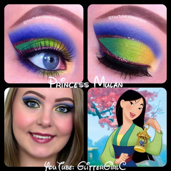 Disney Princess Mulan Makeup