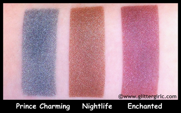 makeup geek pigments swatches three