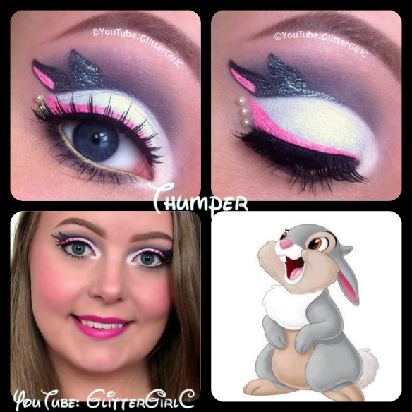 Disney Thumper makeup