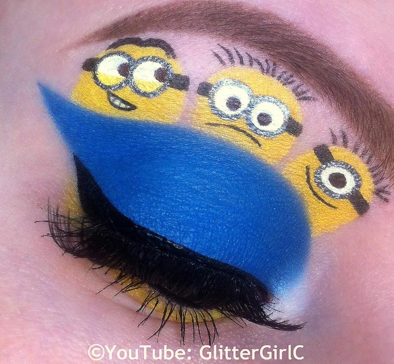 Minions Makeup Look Glittergirlc