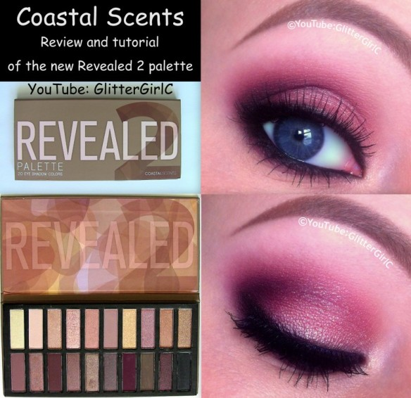 coastal scents revealed 2 makeup look