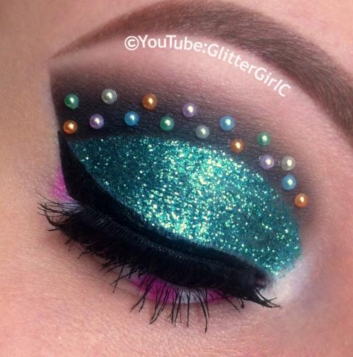 Vanellope makeup
