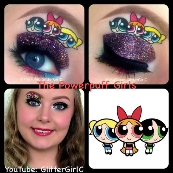 The Powerpuff Girls makeup