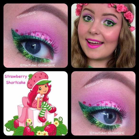 Strawberry Shotcake makeup