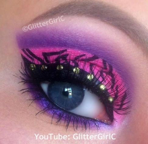Clawdeen Wolf makeup