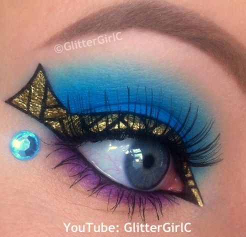 Cleo de nile makeup