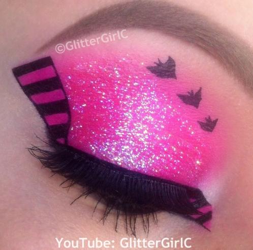 Draculaura makeup halloween