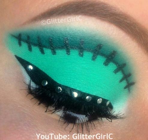 Frankie Stein makeup