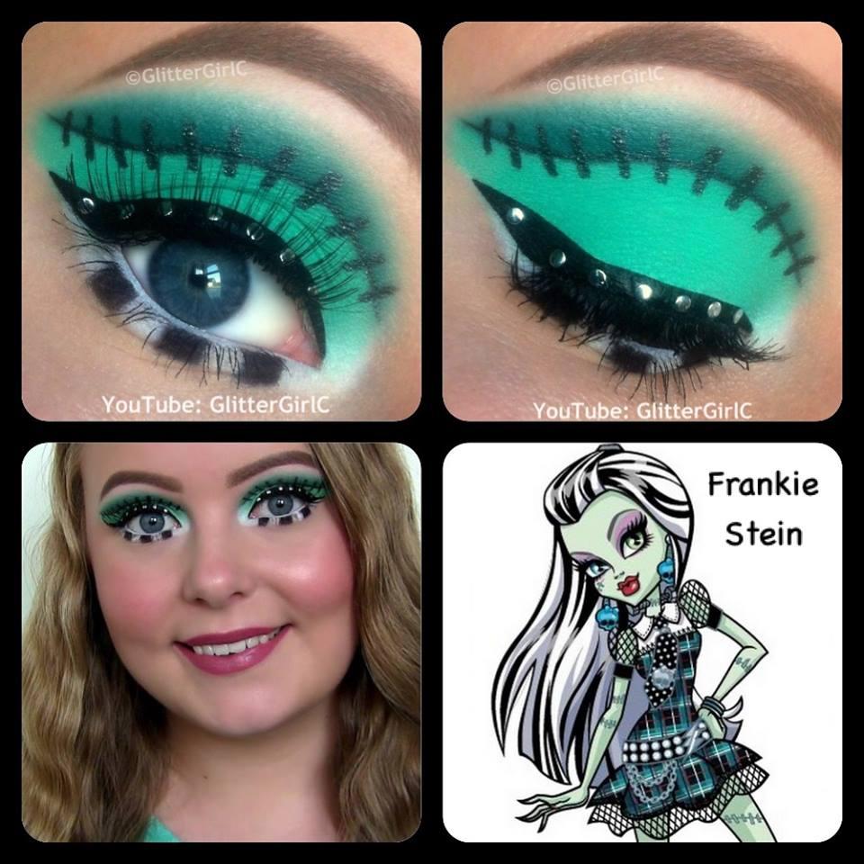 Как сделать макияж монстра хай
