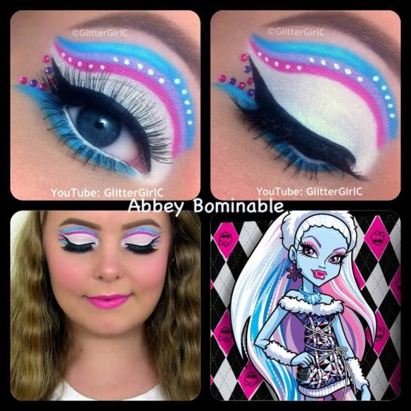 Monster High Abbey Bominable makeup