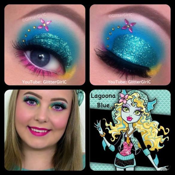 Monster High Lagoona Blue Makeup