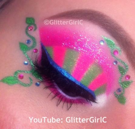 Venus McFlytrap Makeup
