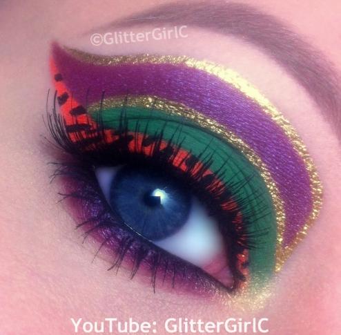Cleolei makeup