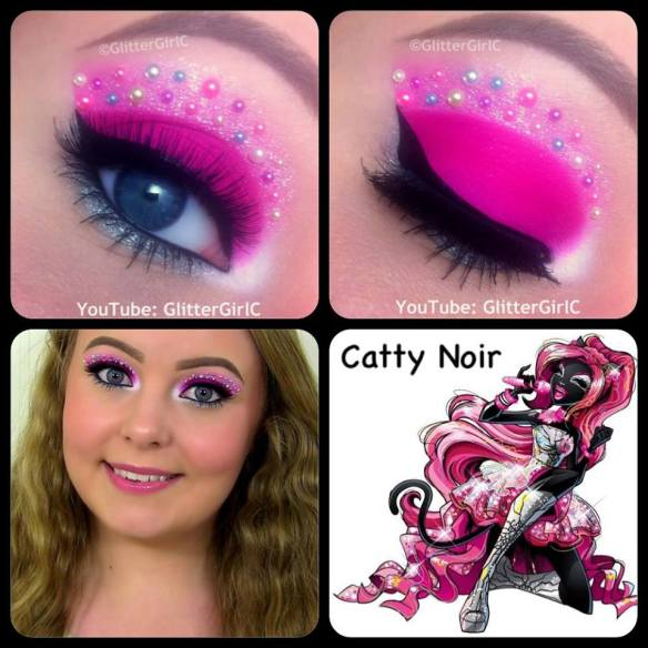 Monster High Catty Noir Makeup