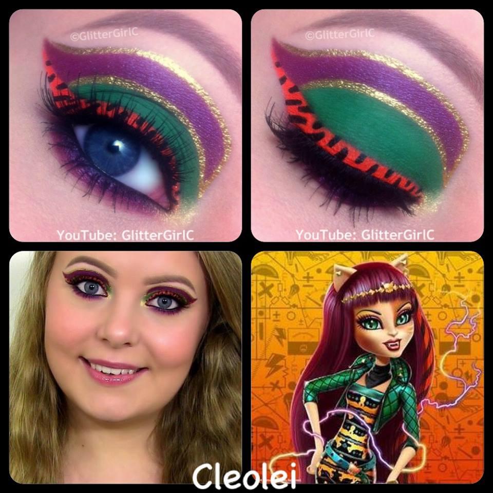 Monster High Cleolei Makeup : GlitterGirlC