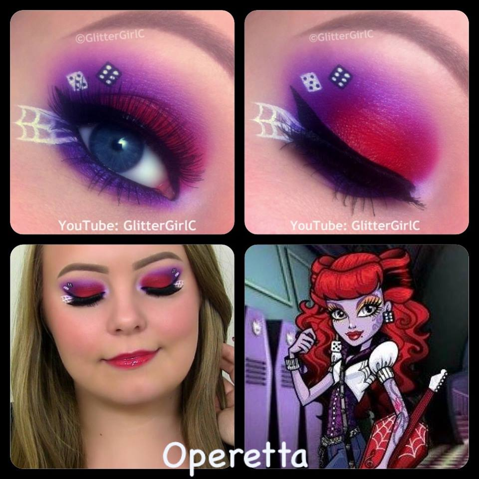 Monster high operetta makeup glittergirlc monster high operetta makeup baditri Images