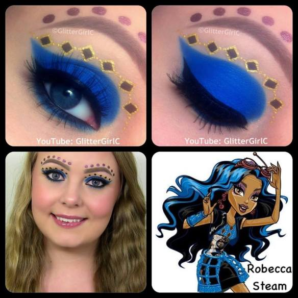 Monster High Robecca Steam Makeup