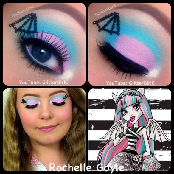 Monster High Rochelle Goyle Makeup