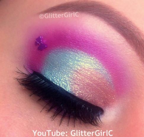 Sugarpill Sparkle Baby makeup