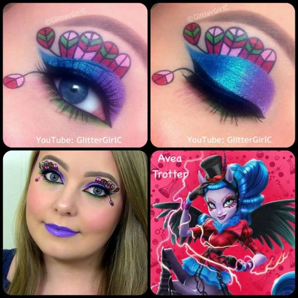 Monster High Avea Trotter Makeup