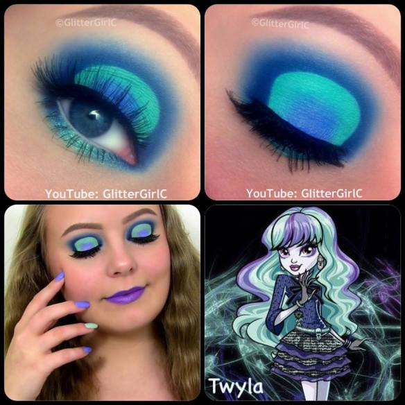 Monster High Twyla makeup
