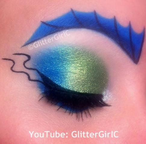 Sirena von Boo makeup