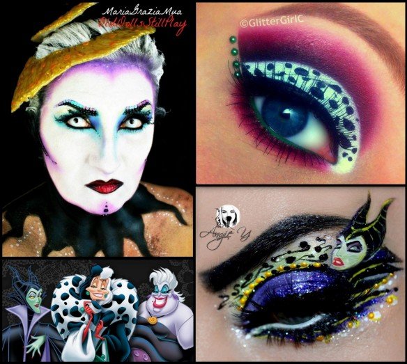 Disney Villains makeup