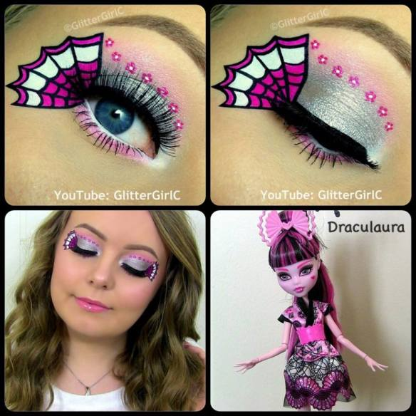 Monster High Draculaura Exchange doll makeup