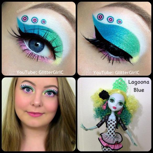 Monster High Lagoona Blue Monster Exchange Doll Makeup