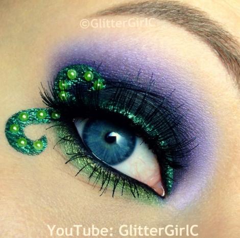 Morgana Makeup The Little Mermaid 2