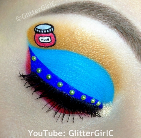 Bamse makeup