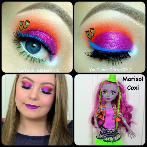 Monster High Marisol Coxi makeup