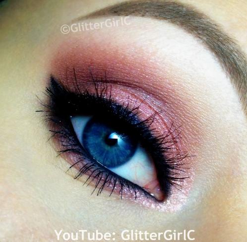 Pink Valentine makeup