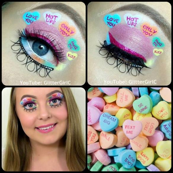 Valentine's Day Sweethearts Makeup