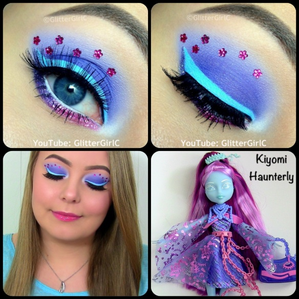 Monster High Kiyomi Haunterly Makeup