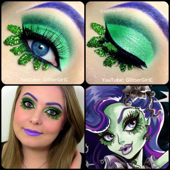 Monster High Amanita Nightshade Makeup