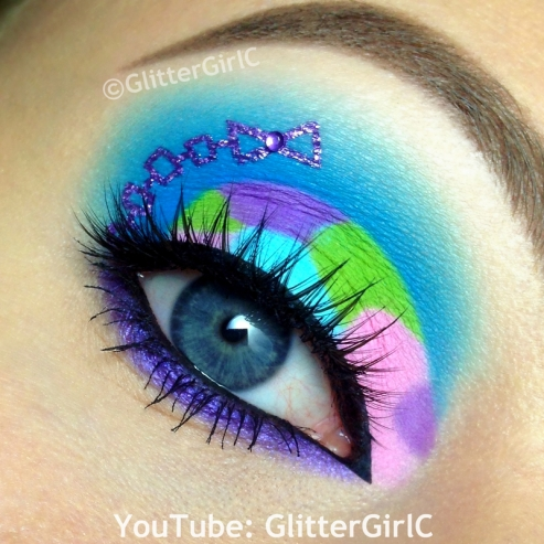 River Styxx makeup