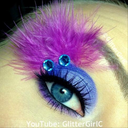 Yzma makeup look