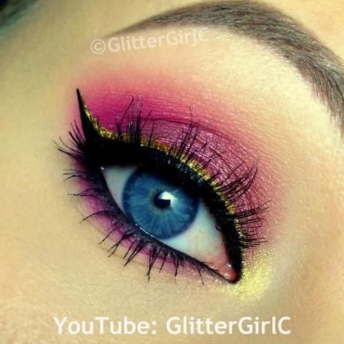 Mother Gothel makeup
