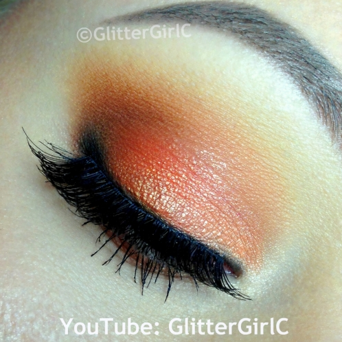 Orange Summer makeup