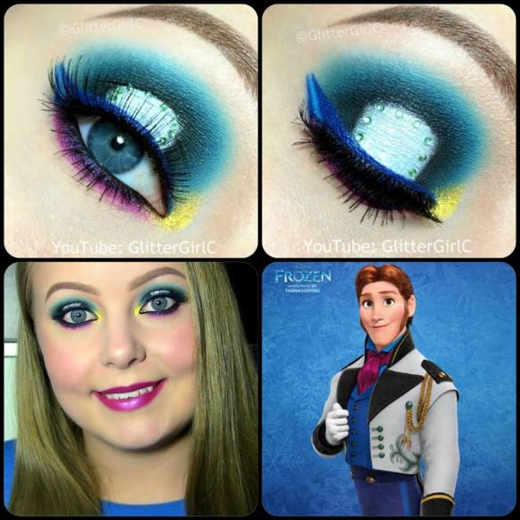 Disney Frozen Prince Hans Makeup