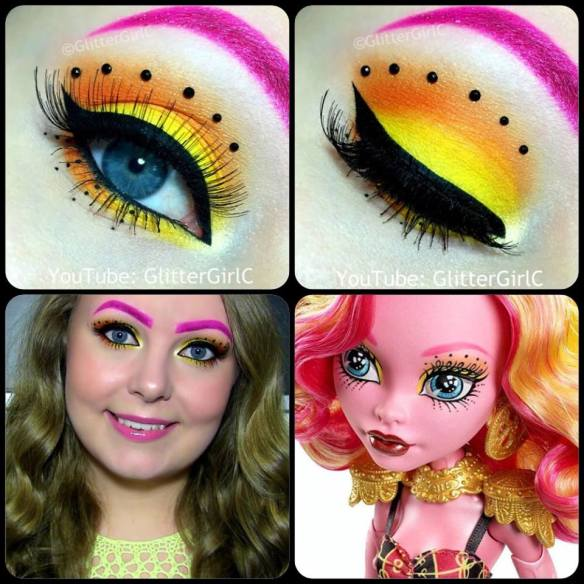 Monster High Gooliope Jellington Makeup