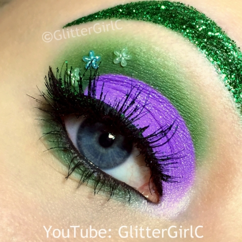 Inside Out Disgust makeup