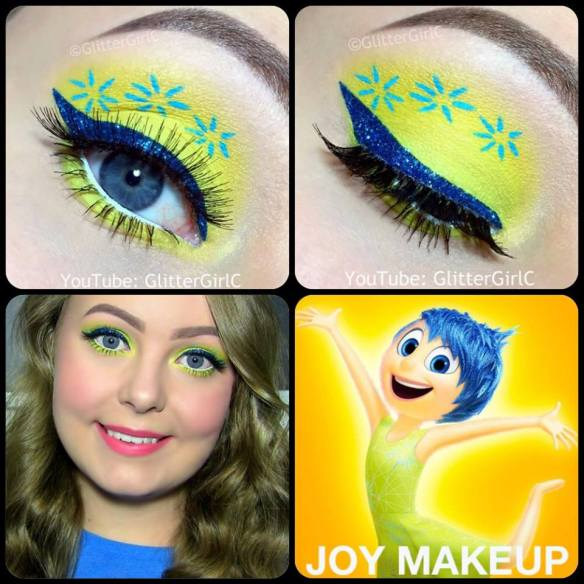 Inside Out Joy Makeup Tutorial