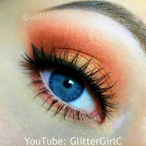 Peach Summer Makeup
