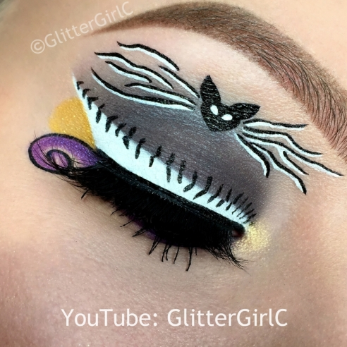 Jack Skellington makeup