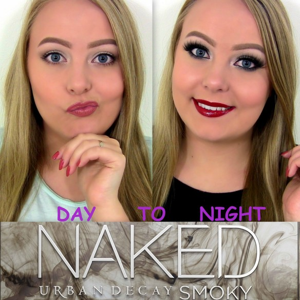 Urban Decay Naked Smoky palette makeup look