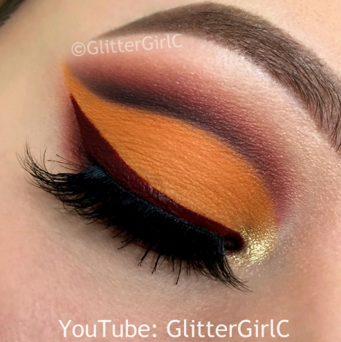 Thanksgiving makeup look
